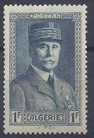 ALGERIE - N° 168 - PETAIN -  NEUF SANS CHARNIERE - LUXE - Algérie (1924-1962)