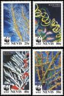 (WWF-167) W.W.F. Nevis MNH  Black Corals Stamps 1994 - W.W.F.