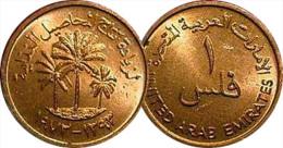 United Arab Emirates - 1 Fils  1973-1995 - Emirats Arabes Unis