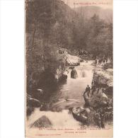 HSCTP7650A-LFTD4867TFPA.Tarjeta Postal DE LERIDA.Montañas.cascada En El VALLE DE ARAN En BOSOST - Sin Clasificación
