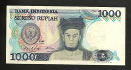 INDONESIA - BANK Of INDONESIA - 1000 RUPIAH (1987) - Indonesia