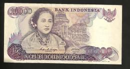 INDONESIA - BANK Of INDONESIA - 10000 RUPIAH (1985) R.A. KARTINI - Indonesia