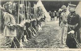 A-16 5328 :  MILITAIRES   INDIAN TROOPS FOR FRANCE TROUPES INDIENNES  EN REVUES  LORD KITCHENER - Guerra 1914-18