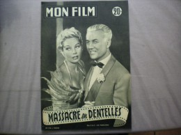 MON FILM N°316 DU 10-9-52 RAYMOND ROULEAU ET TILDA THAMAR DANS MASSACRE EN DENTELLES - Kino