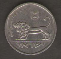 ISRAELE 1/2 SHEQEL 1980 - Israele