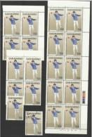 1986 San Marino Saint Marin BOCCE  BOWLS 20 Serie: 19 MNH** + 1 USATA