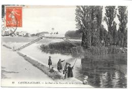 CASTELNAUDARY. - Le Pont Et La Passerelle De La Cibelle. - Castelnaudary