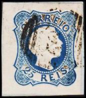 1856. Pedro V. 25 REIS. (Michel: 10) - JF193204 - 1853 : D.Maria