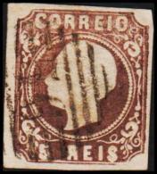 1862. Luis I. 5 REIS. 56. Tear.  (Michel: 12) - JF193209 - 1853 : D.Maria