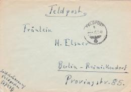 Feldpost WW2: From The Lappland Area Serving XXXVI. Gebirgs-Armeekorps - Aufklärungs-Abteilung 776  FP 16747D P/m 11.2.1 - Militaria