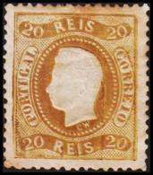 1869. Luis I. 20 REIS.  (Michel: 27) - JF193299 - 1853 : D.Maria