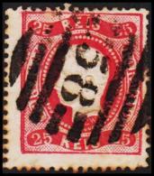 1867. Luis I. 25 REIS.  (Michel: 28) - JF193293 - Usado