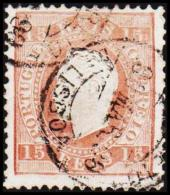 1875. Luis I. 15 REIS Perforated 12½.   (Michel: 36xB) - JF193339 - 1853 : D.Maria