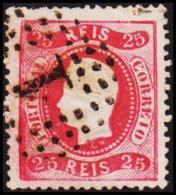 1867. Luis I. 25 REIS.  (Michel: 28) - JF193296 - 1853 : D.Maria