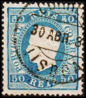 1879. Luis I. 50 REIS Perforated 13½. (Michel: 48C) - JF193333 - 1853 : D.Maria