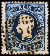 1867. Luis I. 120 REIS.  (Michel: 32) - JF193283 - 1853 : D.Maria