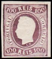 1867. Luis I. 100 REIS. REPRINT.  (Michel: 23 ND) - JF193243 - 1853 : D.Maria