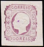 1862. Luis I. 100 REIS. REPRINT. Thin Spot.  (Michel: 16 ND) - JF193237 - 1853 : D.Maria