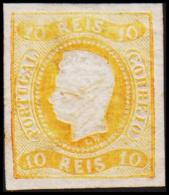 1866. Luis I. 10 REIS. REPRINT.  (Michel: 18) - JF193305 - 1853 : D.Maria