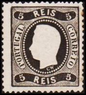 1867. Luis I. 5 REIS.  (Michel: 25) - JF193304 - 1853 : D.Maria