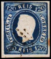 1866. Luis I. 120 REIS.  (Michel: 24) - JF193276 - 1853 : D.Maria