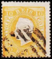 1871. Luis I. 10 REIS Perforated 13½.  (Michel: 35xC) - JF193364 - 1853 : D.Maria