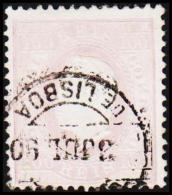 1871. Luis I. 100 REIS Perforated 12½.  (Michel: 41yB) - JF193368 - 1853 : D.Maria