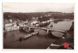 05254-LE-91-CORBEIL-Le Pont-Vue Sur Saint-Pierre-du-Perray------------péniche - Corbeil Essonnes