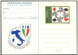 Italia/Italie/Italy: Intero, Stationery, Entier, Bridge - Giochi