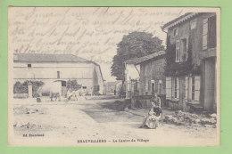 BRAUVILLIERS : Le Centre Du Village. 2 Scans. Edition Fourchard - Francia