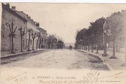 Tournus - Avenue De La Gare (petite Animation) Circulé 1903 - France