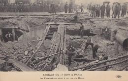 Orage - Climat - Catastrophe - Paris 15 Juin 1914 - Rue Du Havre - Catastrophes