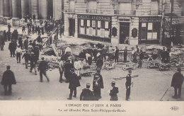 Orage - Climat - Catastrophe - Paris 15 Juin 1914 - Place Saint Philippe Du Roule - Catastrophes