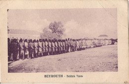 LIBAN BEYROUTH SOLDATS TURCS - Liban