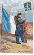 Militaria Illustrée A Palm De Rosa Militaire Armee Francaise Chasseur A Pied 1907 - Illustrateurs & Photographes