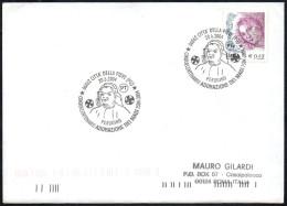 ITALIA CITTA´ DELLA PIEVE (PG) 2004 - IL PERUGINO - CINQUANTENARIO ADORAZIONE DEI MAGI 1504-2004 - BUSTA VIAGGIATA - Religious