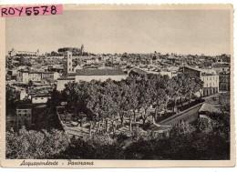Lazio-viterbo-acquapendente Veduta Panorama Interno Acquapendente Anni 40/50 - Altre Città