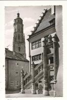 Cp, Allemagne, Nordlingen, Rathaustreppe Mit Daniel - Noerdlingen