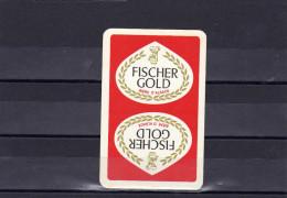 Dos D´une Carte à Jouer De La Biere Gold FICHER - Ohne Zuordnung