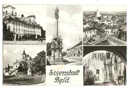 Cp, Autriche, Eisenstadt Bgld, Multi-Vues - Eisenstadt