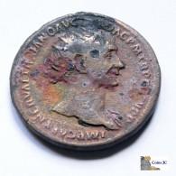 Roma - TRAJANO - Dupondio - 98/117 DC. - 3. Die Antoninische Dynastie (96 / 192)