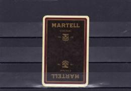 Dos D´une Carte à Jouer Du Cognac MARTELL - Cartes à Jouer