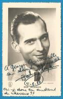 (A113) Signature / Dédicace / Autographe Original De BOB JACQUEMAIN - Carte Format 9x14cm - Autographes