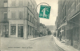 69 RHONE LYON     PONTCHARRA TURDINE TARARE MAGASIN  RUE DEVANTURE  ANIMATION    BEAUJOLAIS - Pontcharra-sur-Turdine