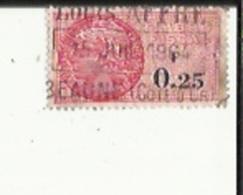 Timbre Fiscal  0'25   F  Obliterè 1964 - Revenue Stamps