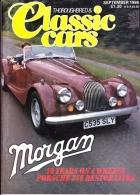CLASSIC CARS - SEPTEMBER 1986 - MORGAN PLUS FIFTY - Trasporti