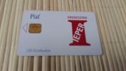 Carte Piaf Ieper Belgique  11/10 Used 2 Scans  Tirage Seulement 1000 Ex Rare! - France