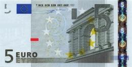 EURO GERMANY 5 X DUISENBERG P007 UNC - EURO