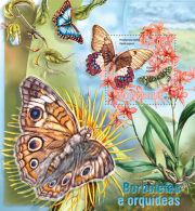 MOZAMBIQUE 2013 - Insect, Butterflies - YT BF726; CV = 16 € - Insecten