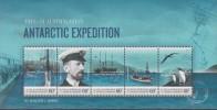 Antarctic.Australisch Antarctic.2011.Sheet.5v.Expedition/Penquins.MNH.22213 - Australisch Antarctisch Territorium (AAT)